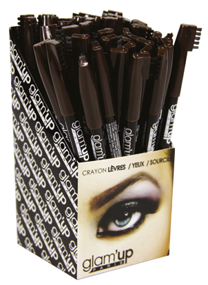 display crayon sourcils Glam'Up