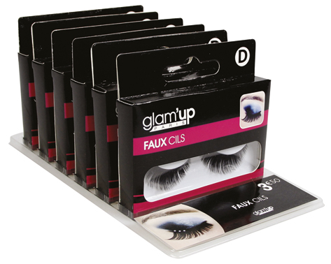 display faux cils Glam'Up