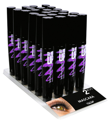 display mascara allongeant Glam'Up