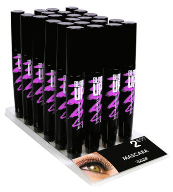 display mascara volume Glam'Up