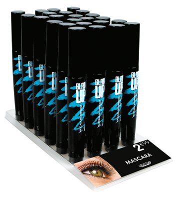display mascara waterproof Glam'Upf
